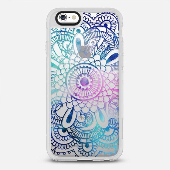 Galaxy Mandala - Magenta & Teal Mandala - New Standard Case