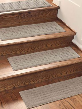Ordinaire Vista Stair Treads (set Of 4)   Safety Proof Your Home With Our Set Of  Carpeted Non Slip Stair Treads For Wood And Carpet Stairs Alike.