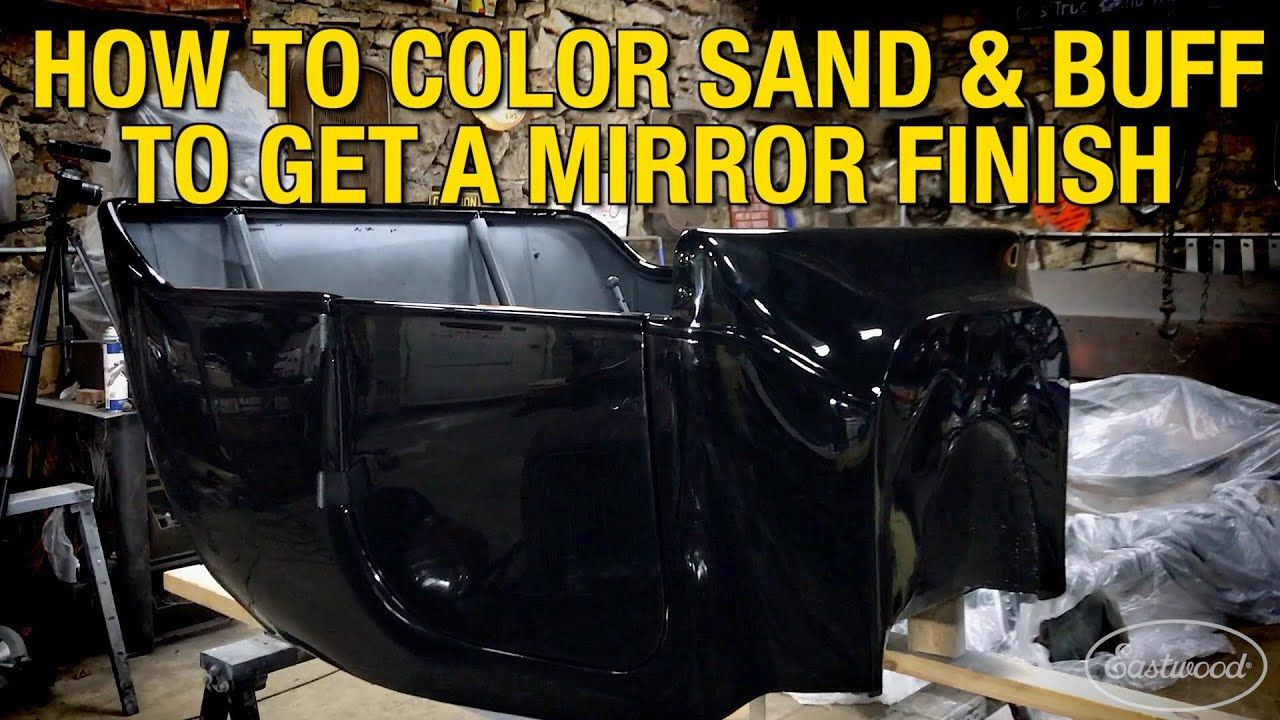 How To Color Sand and Buff a Car After a Fresh Paint Job