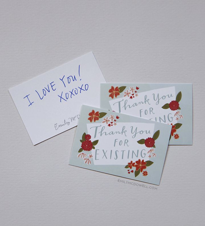 Civility According To One Ms Emily Mcdowell Cards Thank You