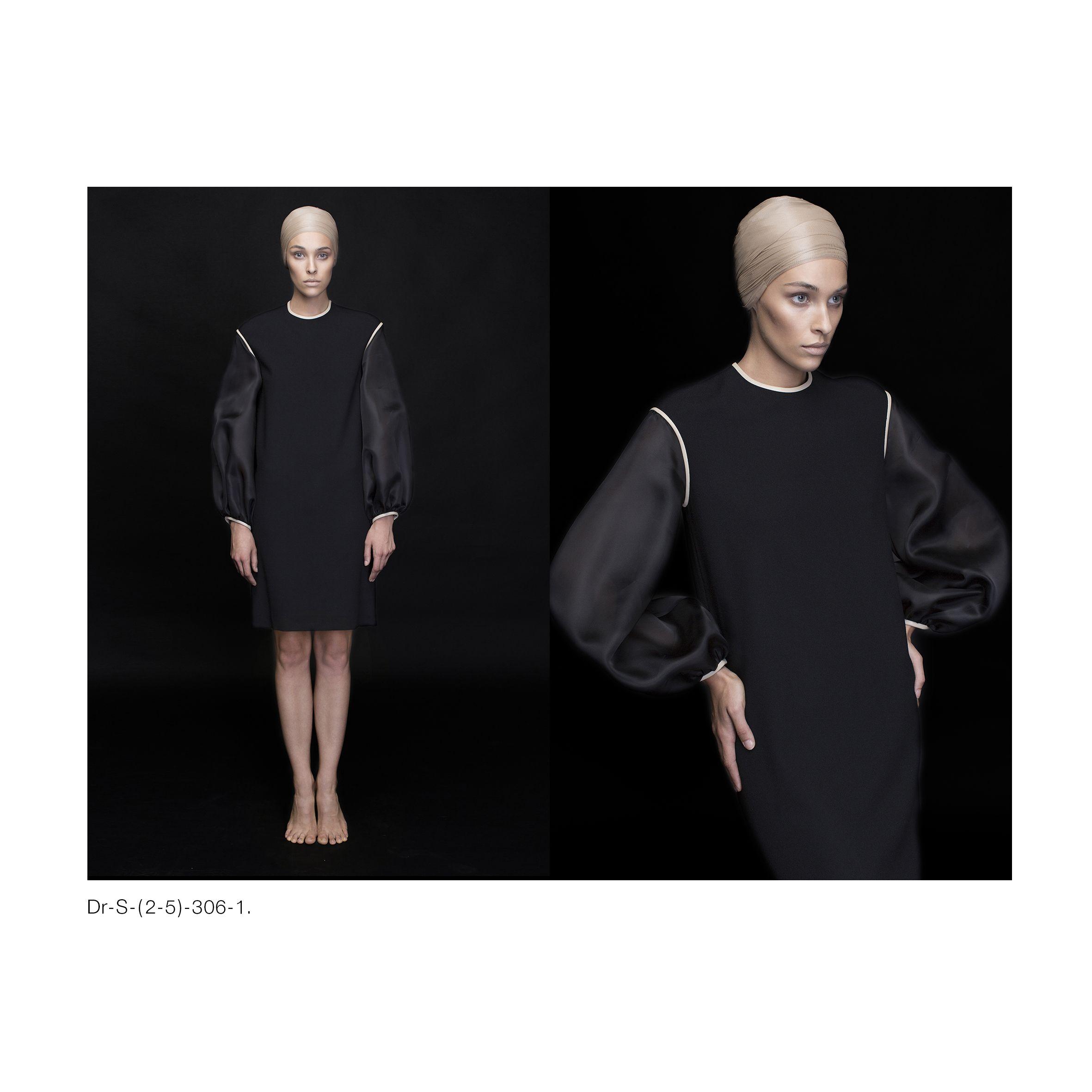 Silk-organza dress