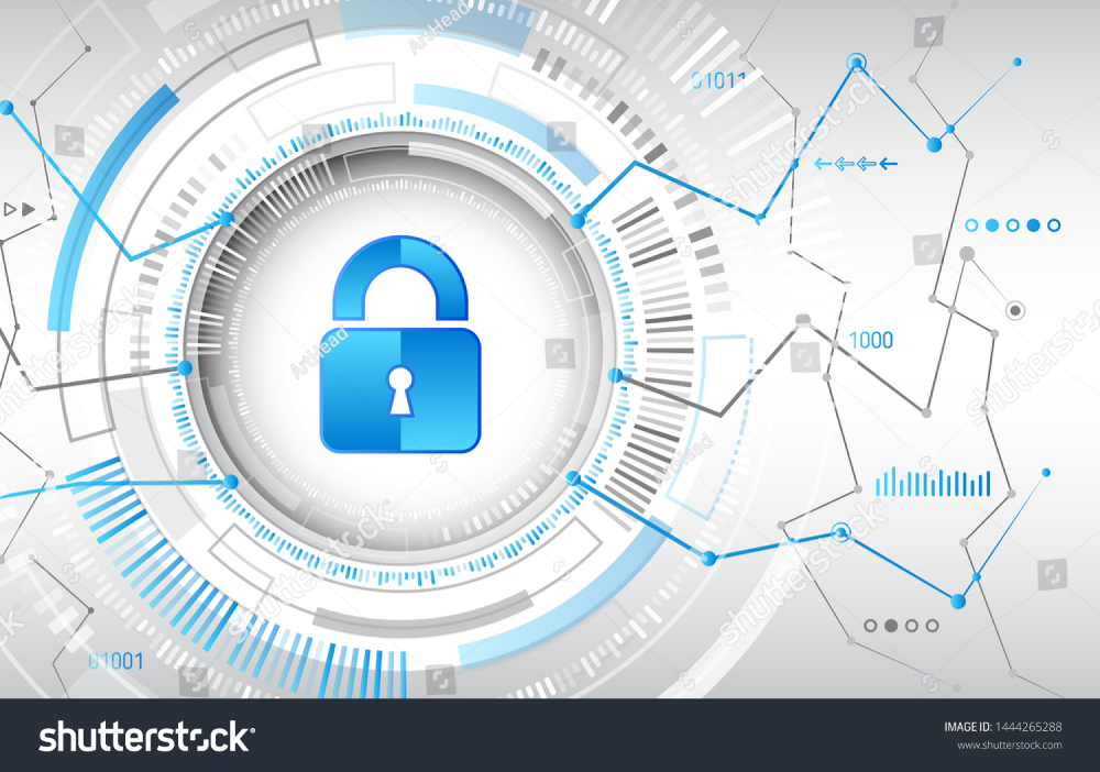 Cyber Security And Data Privacy Protection Vector Illustration Internet Security Online Concept Global Network Mechanism Protecti Cyber Security Cyber Vector