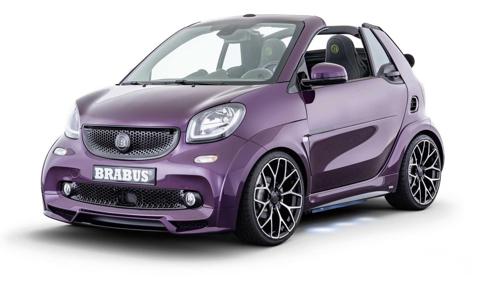 2020 Smart Eq Fortwo Ultimate E Cabrio By Brabus Smart Fortwo