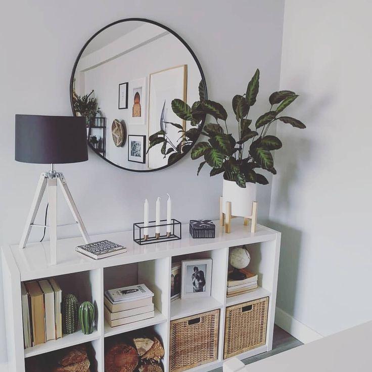 Wandspiegel Runder Spiegel Wohnzimmer Dekor Moderne Wohnkultur