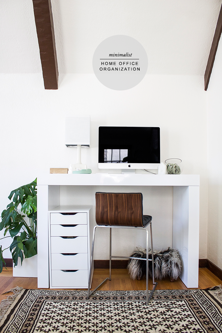 Modern Minimalist Home Office Organization And Smart Tech By Reichel  Broussard And PayPal | Copy Cat Chic | Luxe Living For Less Budget Home  Decor And ...