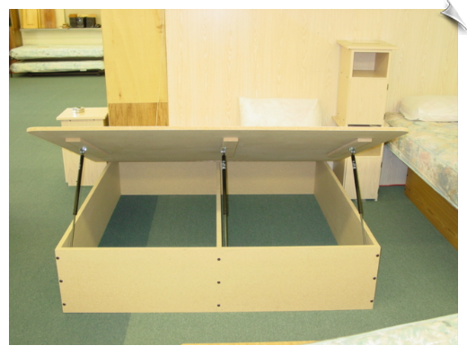 King Size Storage Bed Kit Design De Moveis Moveis Planejados