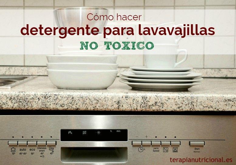 Como Hacer Detergente Para Lavavajillas No Toxico En Segundos