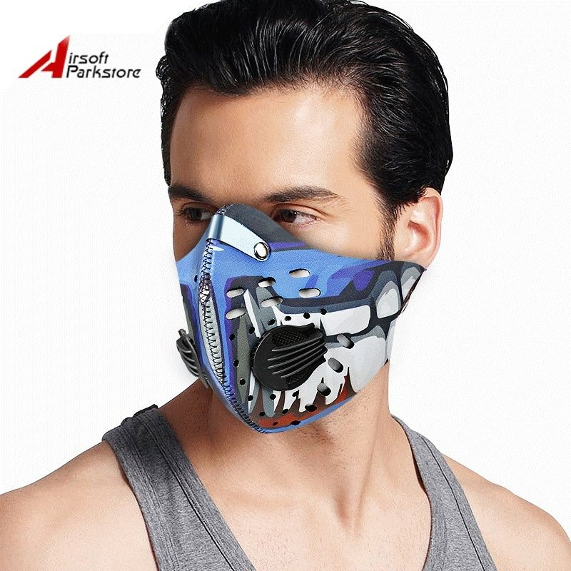 Airsoftparkstore cycling mask bike training bicycle