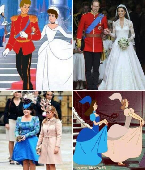 Disney and british royalty - OMG! So true!!