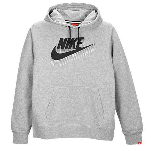 Nike Graphic Hoodie - men's Dark heather/black/grey