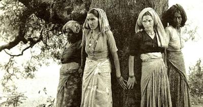 Chipko Andolan Feminist movement, Chipko movement