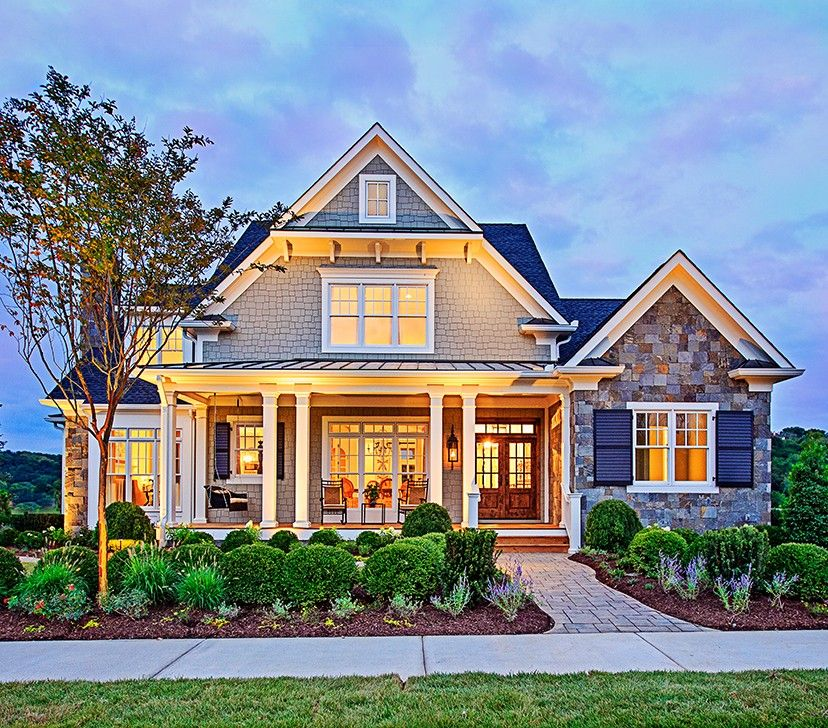 Modern Homes Front And Back: Craftsman House Plan With 3878 Square Feet And 4 Bedrooms