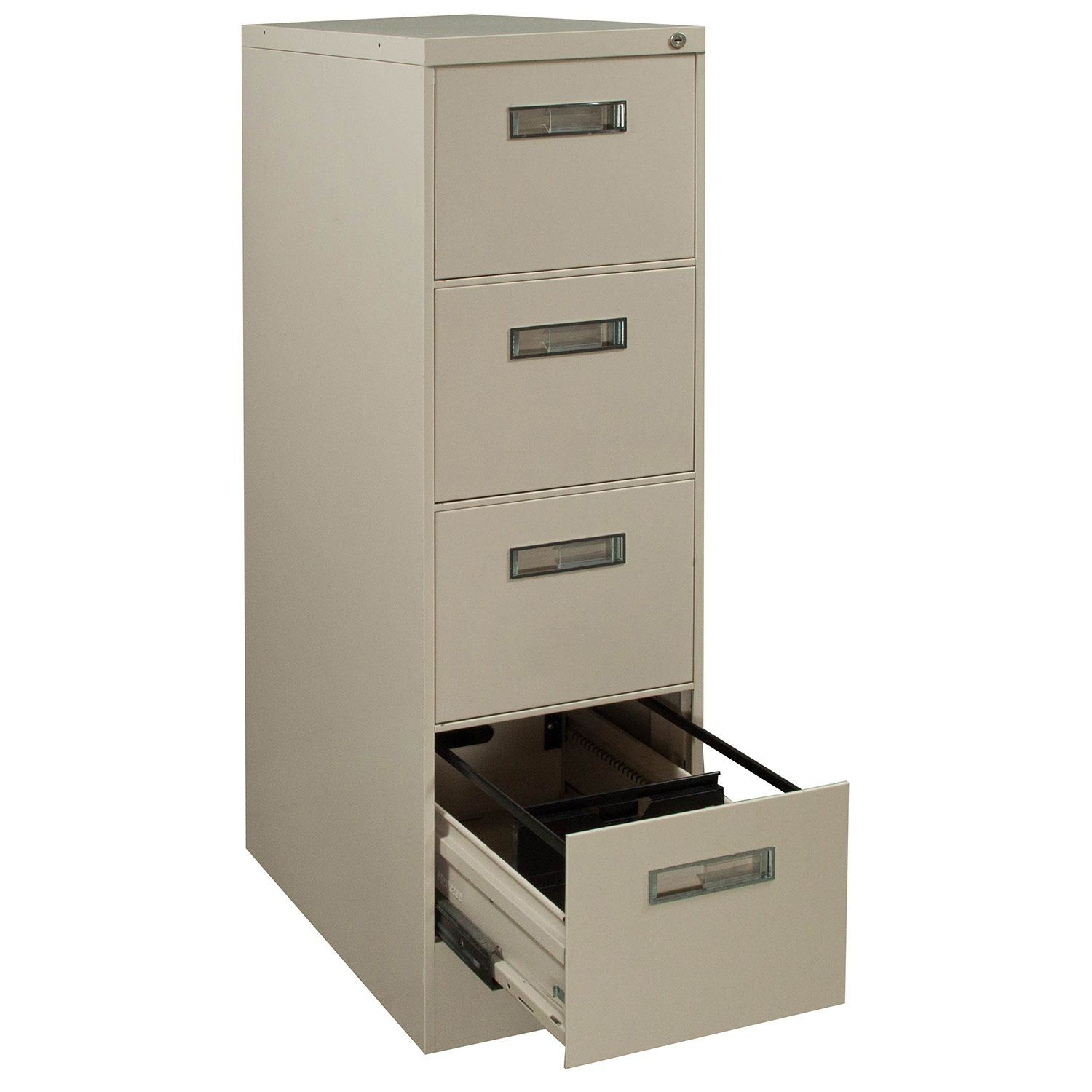 Steelcase 4 Drawer Vertical File Cabinets
