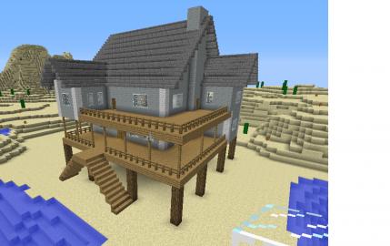 Casa de minecraft dise os de casas pinterest Disenos de casas minecraft