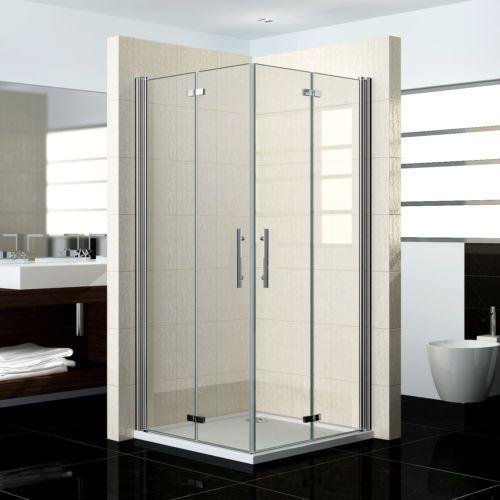 Duschabtrennung Duschkabine 180 Schwingtuer Duschwand Dusche
