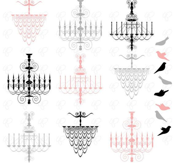 French chandelier silhouette clip art pack 300 dpi transparent french chandelier silhouette clip art pack 300 dpi transparent png card making digital paris french chandelier silouhette bird clipart aloadofball Images