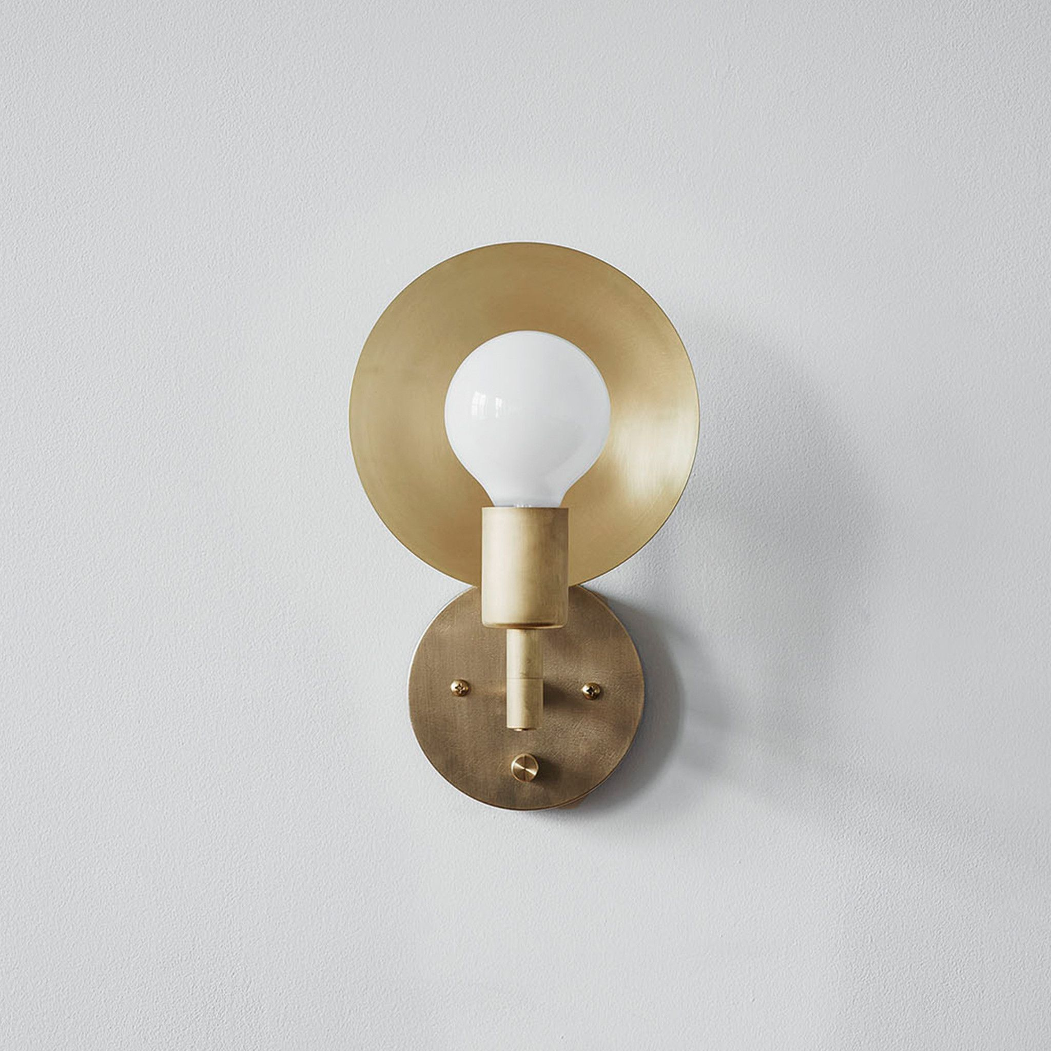Workstead orbit sconce products modern and sconces the orbit sconce is a modern interpretation of an early american candle form with a arubaitofo Gallery