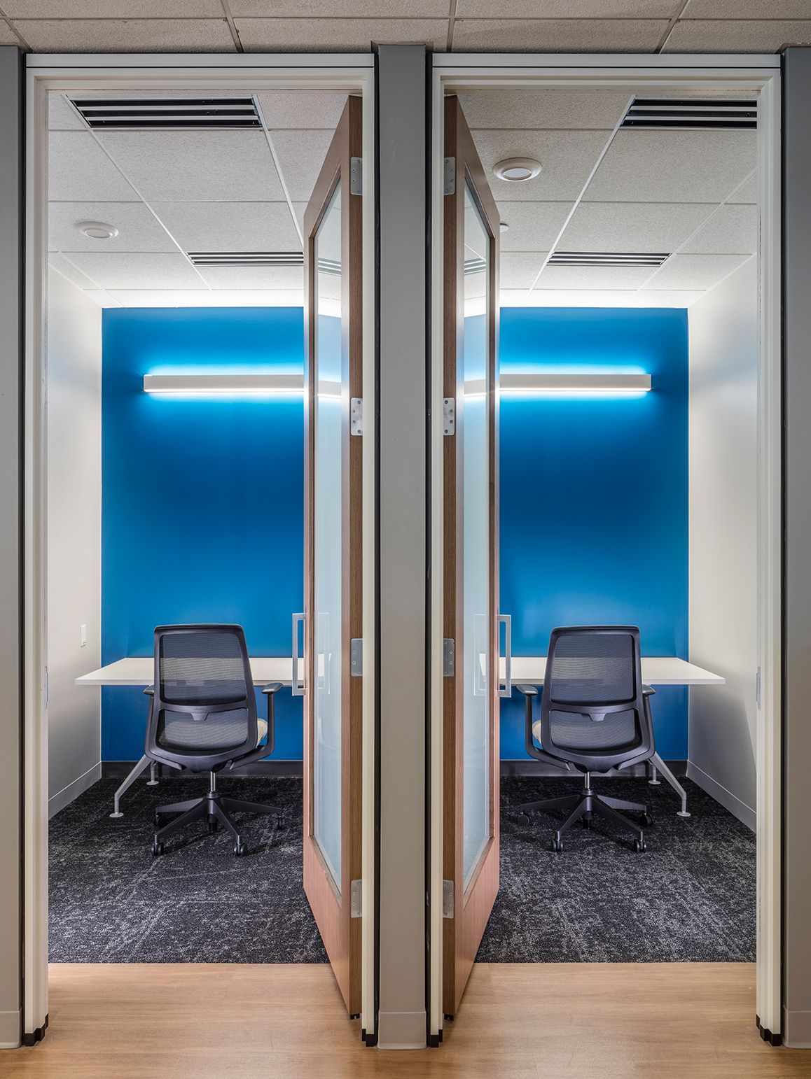 New Directions Headquarters Collaborative Space Haworth Soji Healthcare Companies New Directions Behavioral Health Services