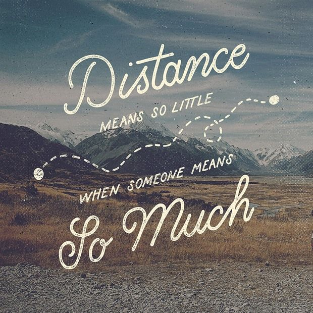 Quotes About Distance Friendship Unique Hand Lettering V4Ian Barnard  Typography  Pinterest