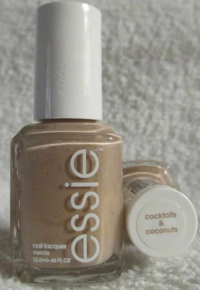 Essie Nail Polish Cocktails And Coconuts #1053 Tan Beige Nude ...