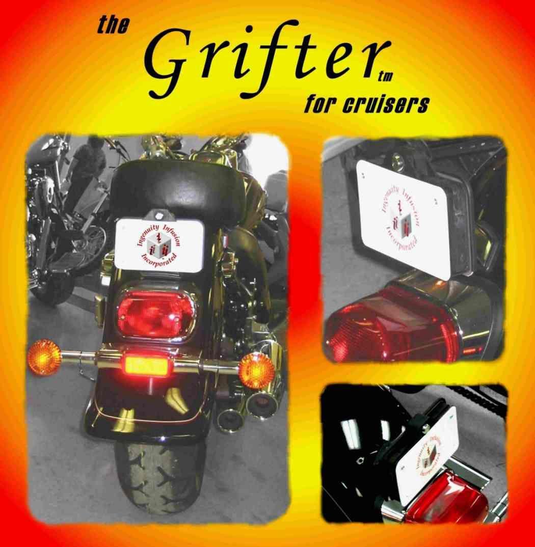 Grifter License Plate Storage Box