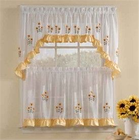 Dappled Lace Café Curtain Pattern   Knitting Patterns And Crochet