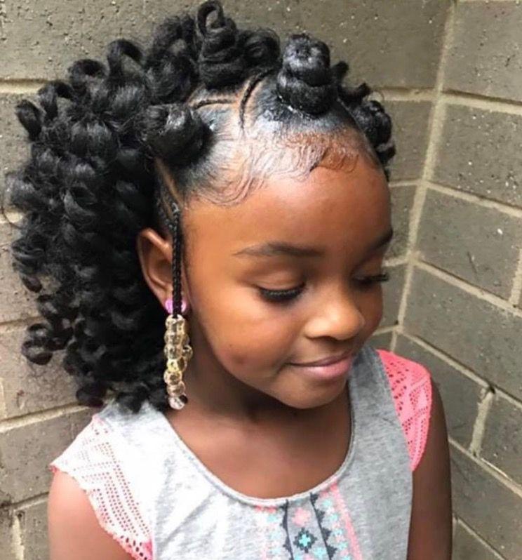 Braid Hairstyles For Kids ♡M O N I Q U Em  Girl's Braids  Pinterest  Hair Style Kid