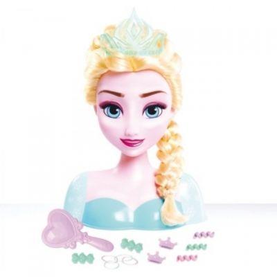 Frozen Stylingkopf Elsa - Mädchen können Elsa stylen und damit in die Geschichte und den Film eintauchen.