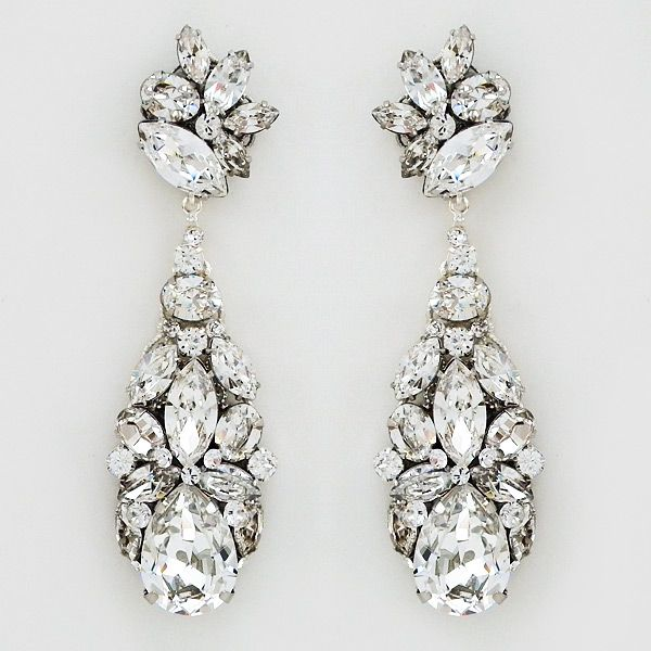 Perfect details chandelier earrings couture and bridal jewelry hollywood glam chandelier earrings by cheryl king couture see more here httpsperfectdetailssw559em mozeypictures Choice Image