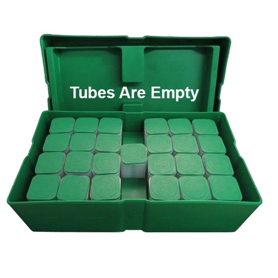 Empty Green Monster Box For Silver Eagle Coin Storage With Tubes Monster Box Silver Eagle Coins Green Monsters