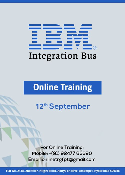 IBM Integration BUS IIB Training classes , Ameerpet