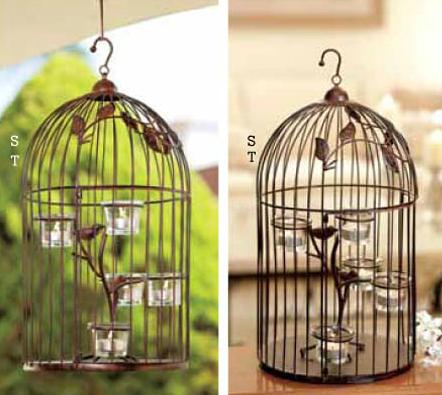 Me encanta por no tener aves reales y mas bien iluminar de una forma muy original el jardin!