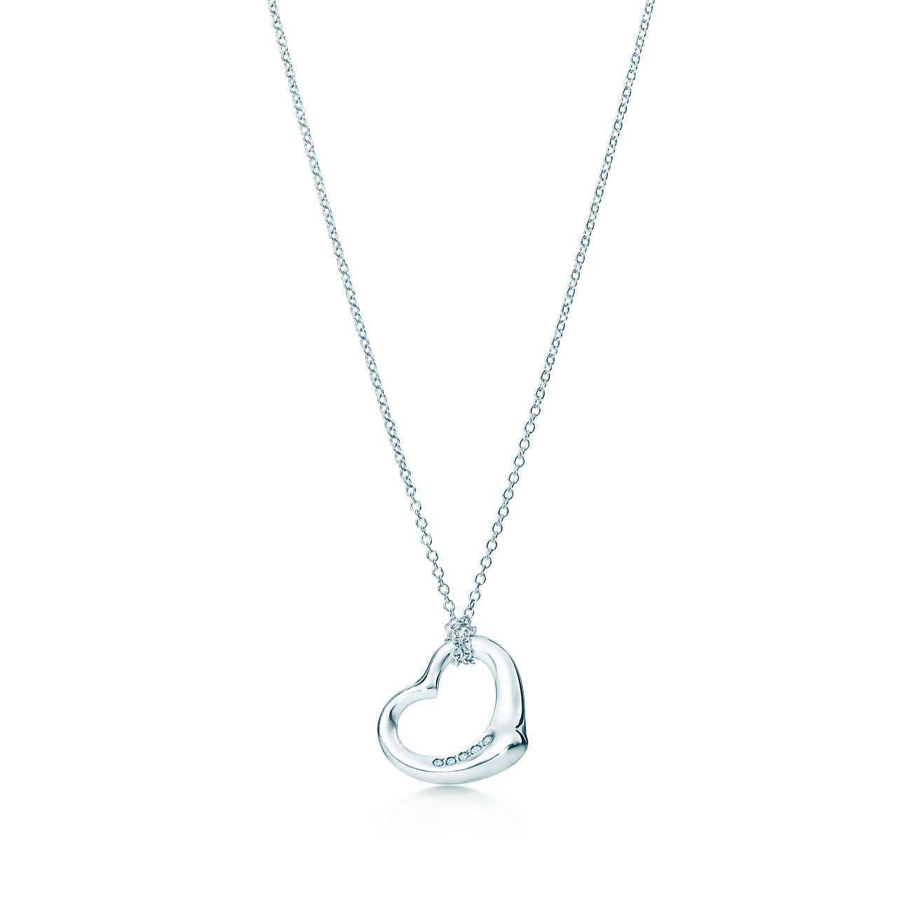 b30afdb85 Open Heart Pendant in 2019 | jewelry | Elsa peretti, Tiffany blue ...