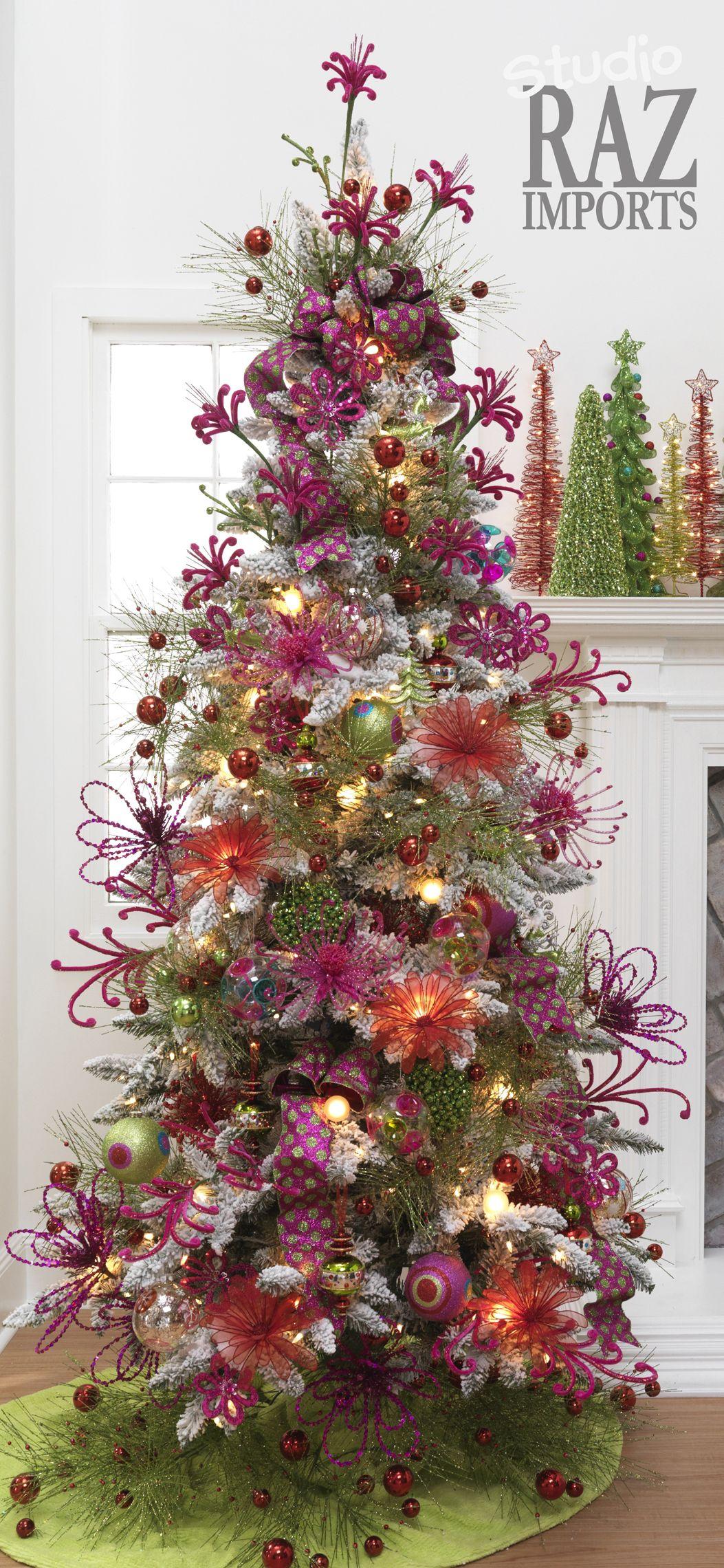 Shades of Purple Christmas Tree   Oh CHRISTmas Tree, Oh ...