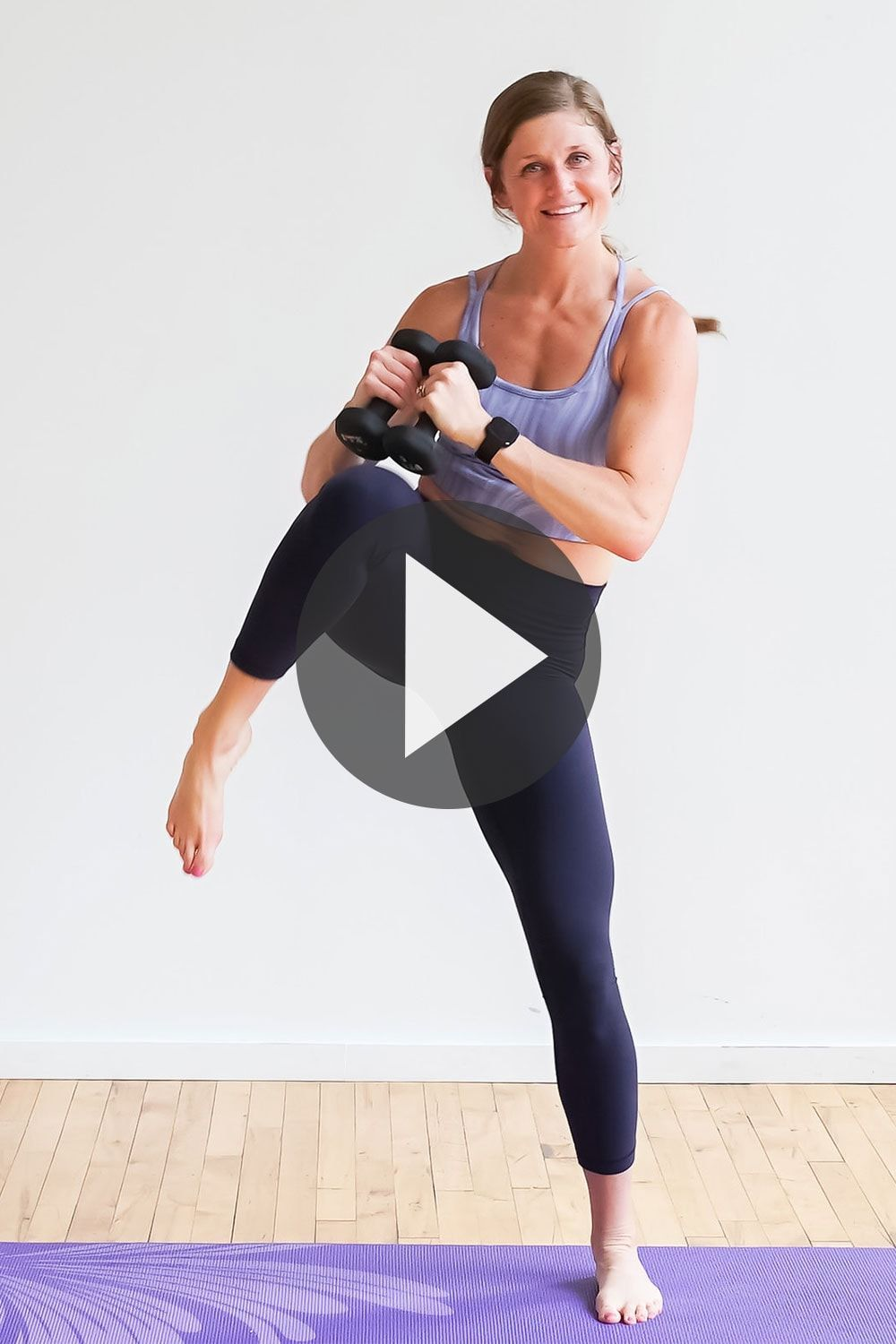 Press 'play' and follow along with this 30-Minute POWER BARRE CLASS AT HOME! It's 30 Minutes of barr...