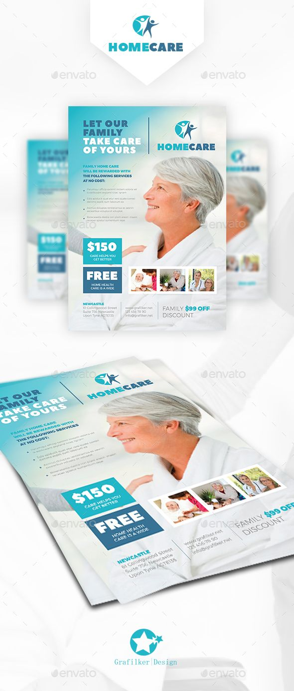 Home Health Care Flyer Templates Flyer Template Template And