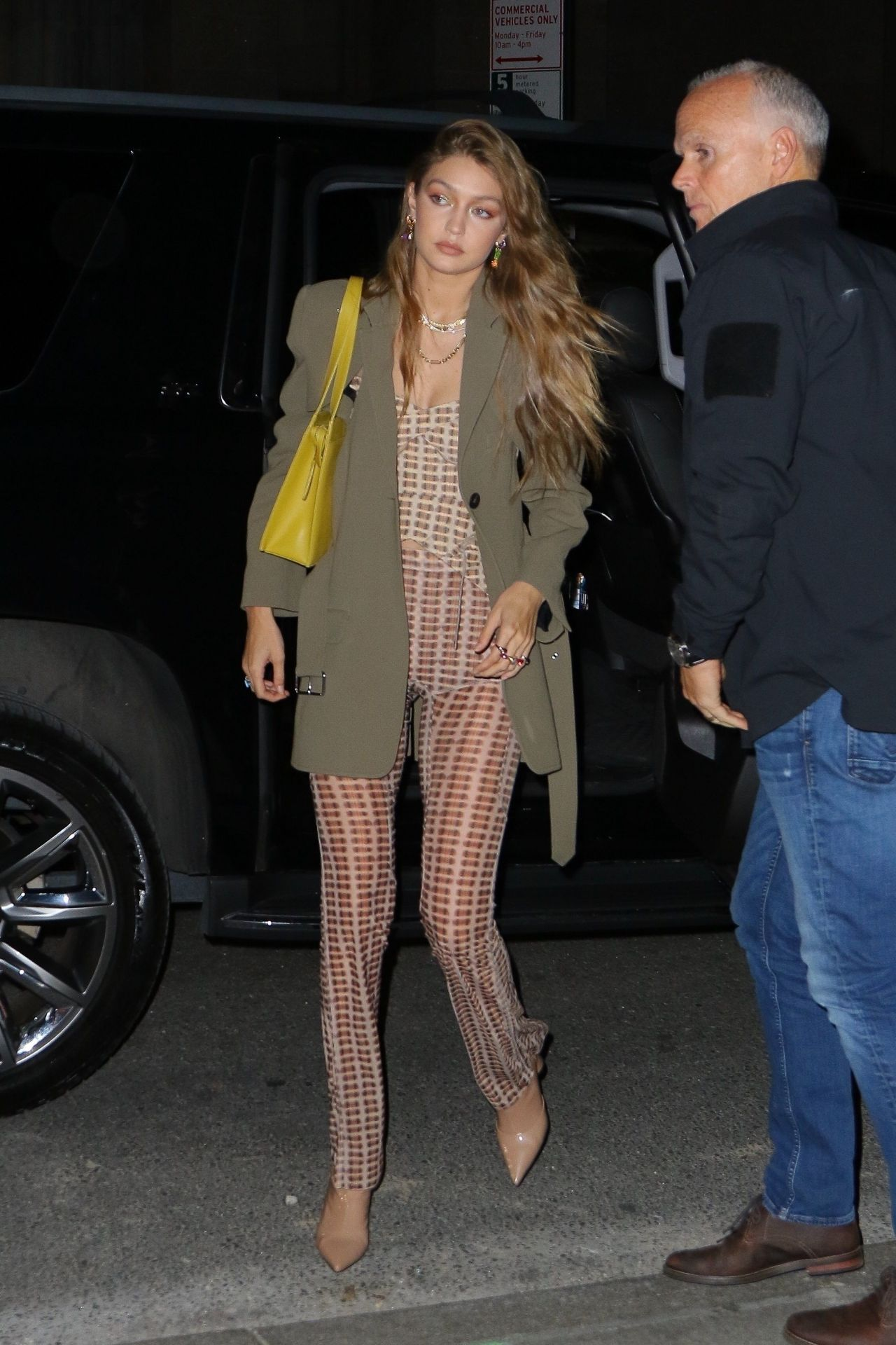 Gigi Hadid Night Out Style – L'Avenue at Saks in NY 10/10/2019 #Celebrity #GigiHadid #Photos #Pics #Private
