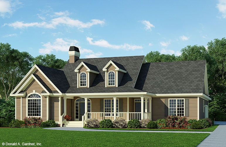 Home Plan The Overbrook By Donald A Gardner Architects New House Plans House Plans Ranch House Plans