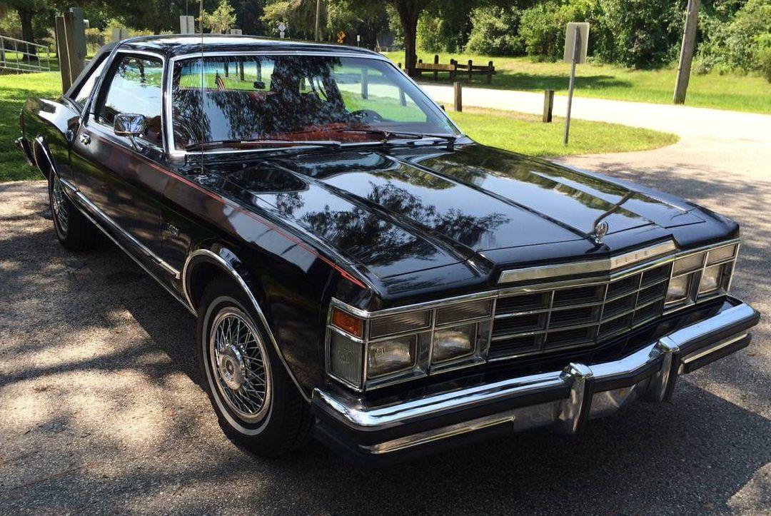 Black Beauty 1978 Chrysler Lebaron Medallion Chrysler Lebaron