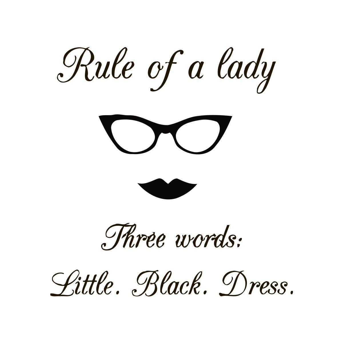 Black dress quotes pinterest - Little Black Dress Quote