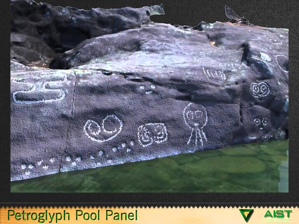 Petroglyphs Attributed To The Taino Indians Were Carved On Stone