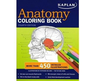 Kaplan Medical Anatomy Coloring Book