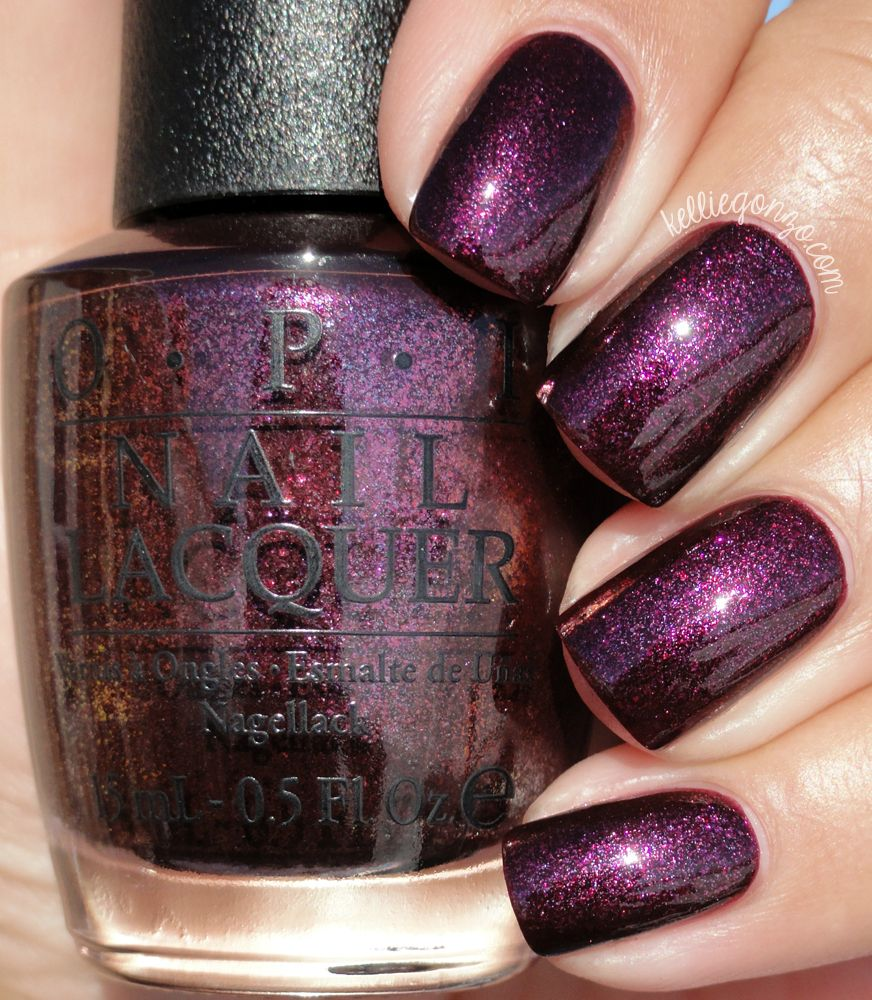 OPI Rich & Brazilian @kelliegonzoblog | NAILS Gorgeous shades ...