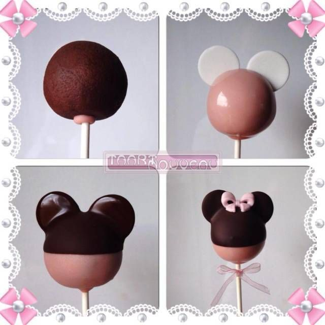 Minnie Mouse Cake Pop Anleitung - CakesDecor   - Minnie mouse cakes - #Anleitung #cake #Cakes #CakesDecor #Minnie #Mouse #pop #minniemouse