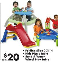 Kids Outdoor Play Sets from Big Lots $20.00