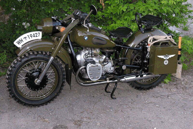 German Bmw Motorcycle Russian S Copied This Bike Exactly And Still