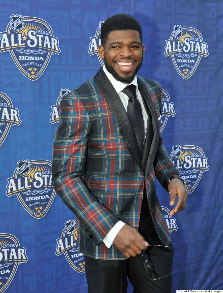 Habs Defenceman P.K. Subban Suits Up For New Fashion Gig