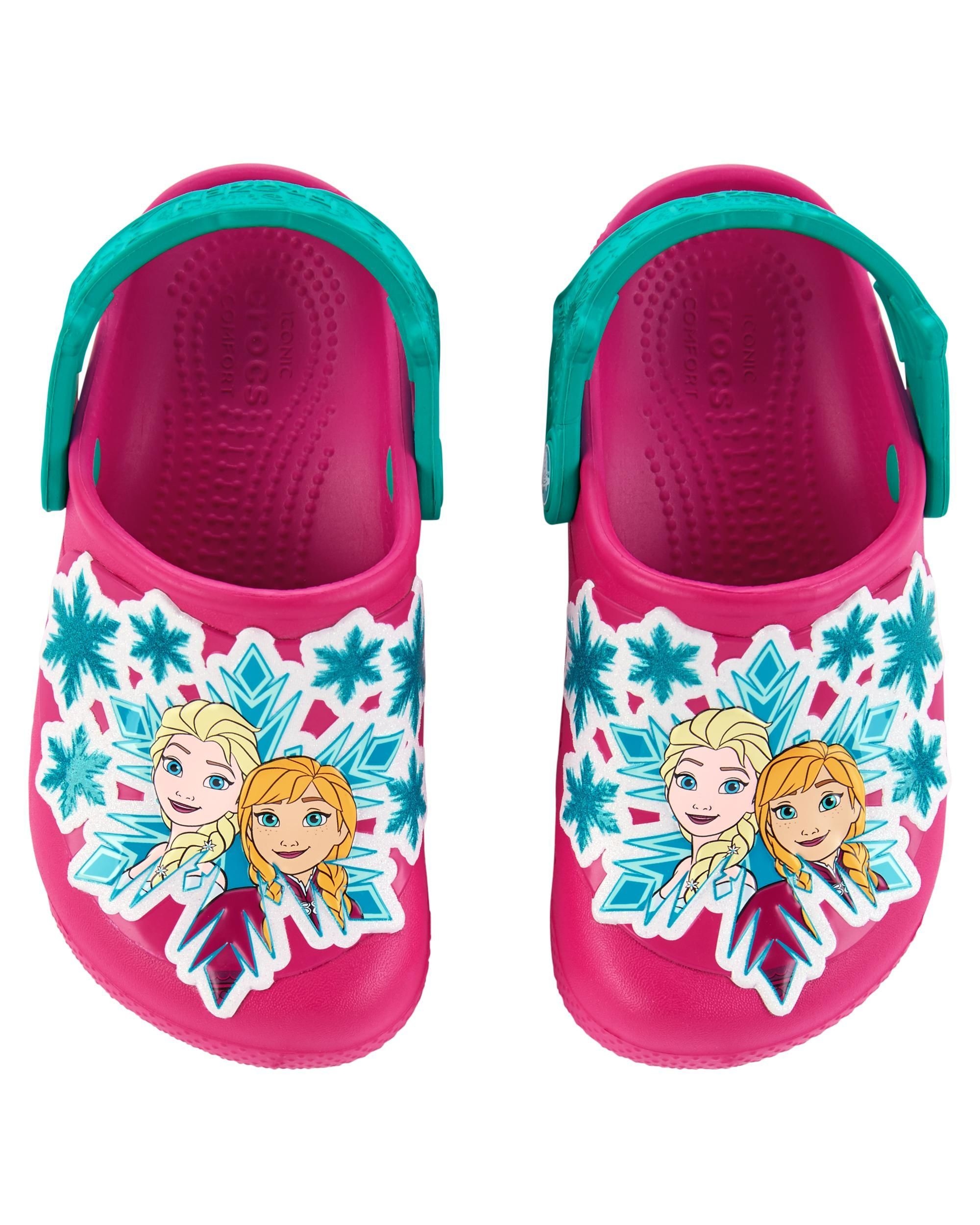 65f9fc80b15df3 Baby Girl Crocs Fun Lab Frozen Clog