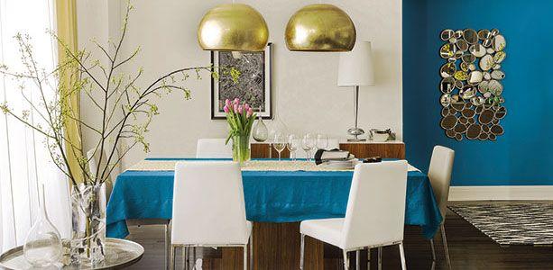 Invitation au voyage les couleurs tendances 2015 des peintures dulux d cor - Peinture sejour tendance ...