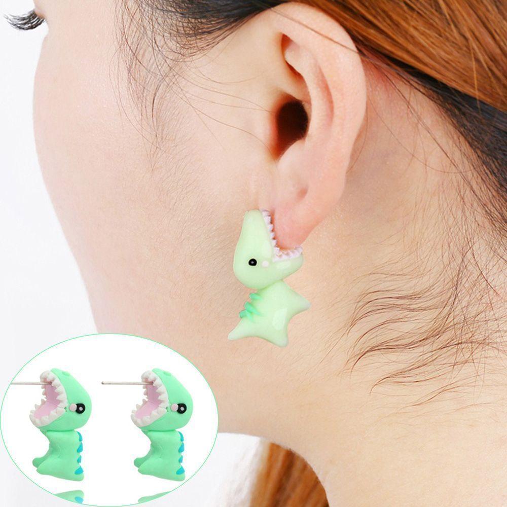 Nose piercing jokes  Details about Chic Handmade Polymer Clay Cartoon D Animal Dinosaur